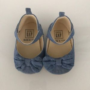 Baby Girl denim shoes